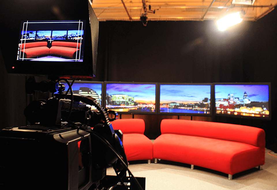 Media training studio